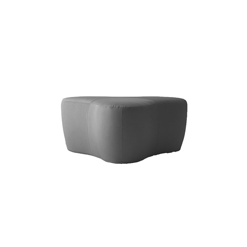 Softline Chat Pouf Small by Hiromichi Konno Olson and Baker - Designer & Contemporary Sofas, Furniture - Olson and Baker showcases original designs from authentic, designer brands. Buy contemporary furniture, lighting, storage, sofas & chairs at Olson + Baker.