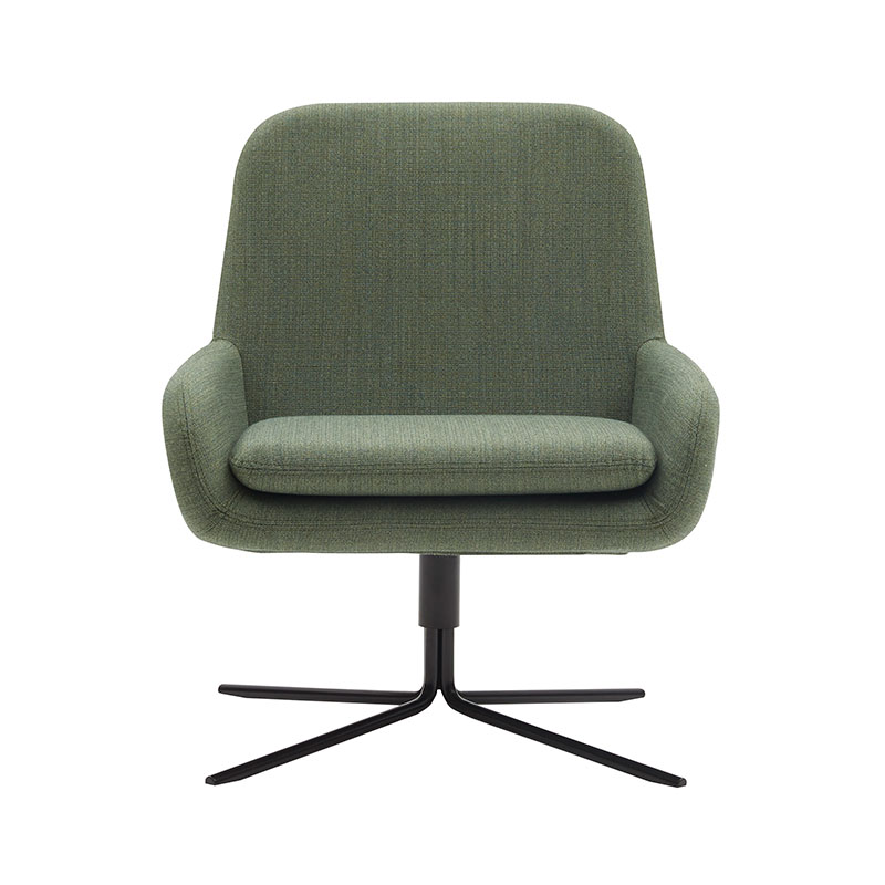 Softline Coco Swivel Chair by Busk+Hertzog Olson and Baker - Designer & Contemporary Sofas, Furniture - Olson and Baker showcases original designs from authentic, designer brands. Buy contemporary furniture, lighting, storage, sofas & chairs at Olson + Baker.