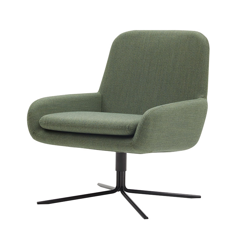 Softline Coco Swivel Chair 982 Remix 2 Black 02 Olson and Baker - Designer & Contemporary Sofas, Furniture - Olson and Baker showcases original designs from authentic, designer brands. Buy contemporary furniture, lighting, storage, sofas & chairs at Olson + Baker.
