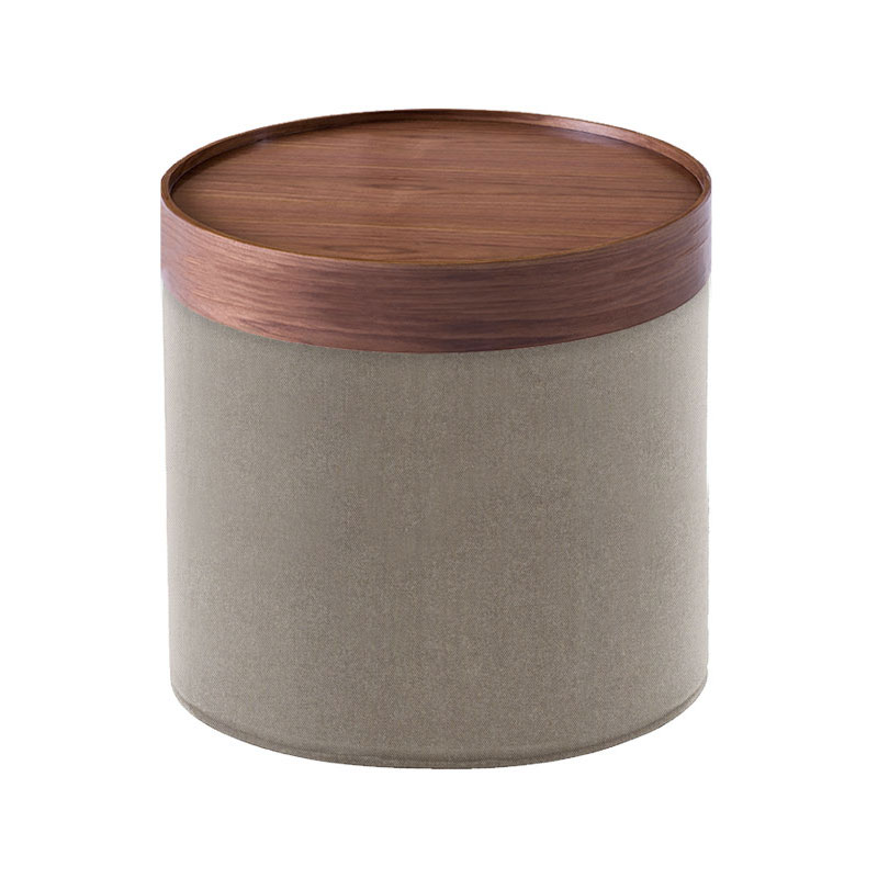 Softline Drum Pouf High 242 Remix 2 02 Olson and Baker - Designer & Contemporary Sofas, Furniture - Olson and Baker showcases original designs from authentic, designer brands. Buy contemporary furniture, lighting, storage, sofas & chairs at Olson + Baker.