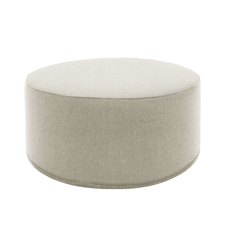 Softline Drum Pouf Large by Softline Design Team Olson and Baker - Designer & Contemporary Sofas, Furniture - Olson and Baker showcases original designs from authentic, designer brands. Buy contemporary furniture, lighting, storage, sofas & chairs at Olson + Baker.