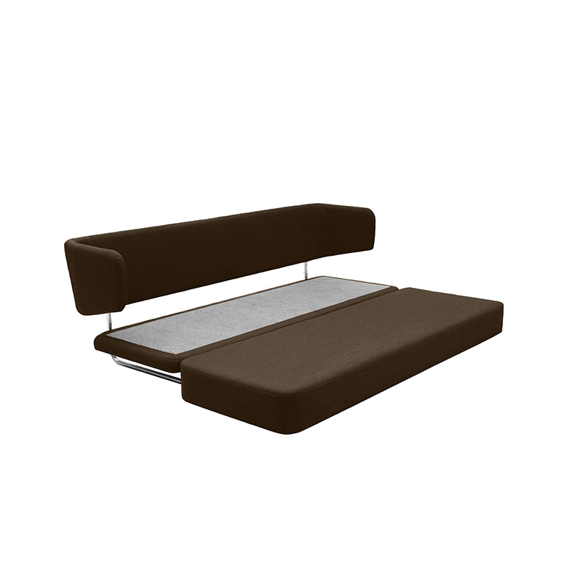 Softline Jasper Three Seat Sofa Bed Felt Melange 635 02 Olson and Baker - Designer & Contemporary Sofas, Furniture - Olson and Baker showcases original designs from authentic, designer brands. Buy contemporary furniture, lighting, storage, sofas & chairs at Olson + Baker.