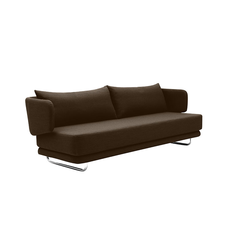 Softline Jasper Three Seat Sofa Bed Felt Melange 635 03 Olson and Baker - Designer & Contemporary Sofas, Furniture - Olson and Baker showcases original designs from authentic, designer brands. Buy contemporary furniture, lighting, storage, sofas & chairs at Olson + Baker.