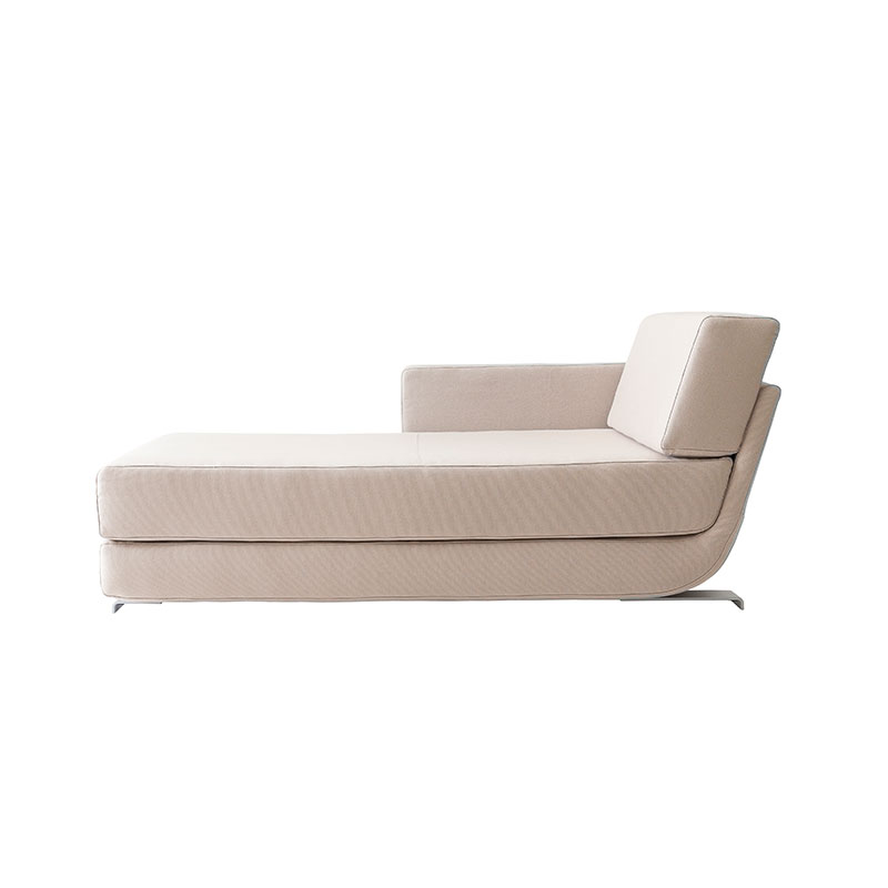 Softline Lounge Chaise Longue Modular Sofa Element by Muller & Wulff Olson and Baker - Designer & Contemporary Sofas, Furniture - Olson and Baker showcases original designs from authentic, designer brands. Buy contemporary furniture, lighting, storage, sofas & chairs at Olson + Baker.