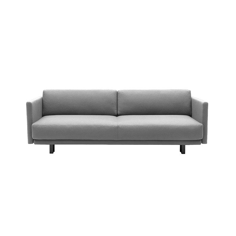 Softline Meghan Three Seat Sofa Bed 171 Divina 3 Black Olson and Baker - Designer & Contemporary Sofas, Furniture - Olson and Baker showcases original designs from authentic, designer brands. Buy contemporary furniture, lighting, storage, sofas & chairs at Olson + Baker.