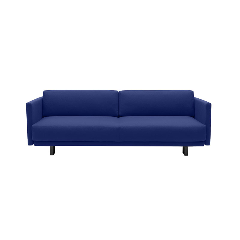 Softline Meghan Three Seat Sofa Bed 791 Divina 3 Black Olson and Baker - Designer & Contemporary Sofas, Furniture - Olson and Baker showcases original designs from authentic, designer brands. Buy contemporary furniture, lighting, storage, sofas & chairs at Olson + Baker.