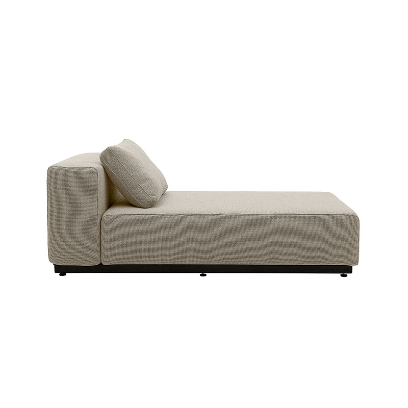Softline Nevada Large Chaise Longue Modular Sofa Element by Busk-Hertzog
