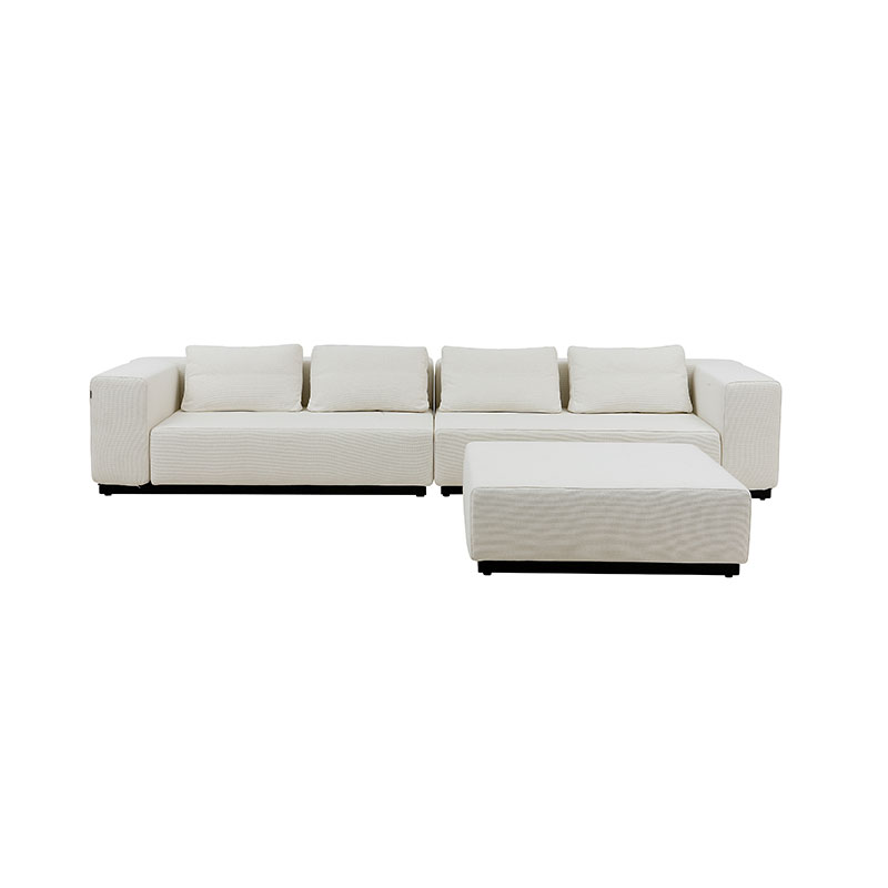 Softline Nevada Pouf 01 Olson and Baker - Designer & Contemporary Sofas, Furniture - Olson and Baker showcases original designs from authentic, designer brands. Buy contemporary furniture, lighting, storage, sofas & chairs at Olson + Baker.