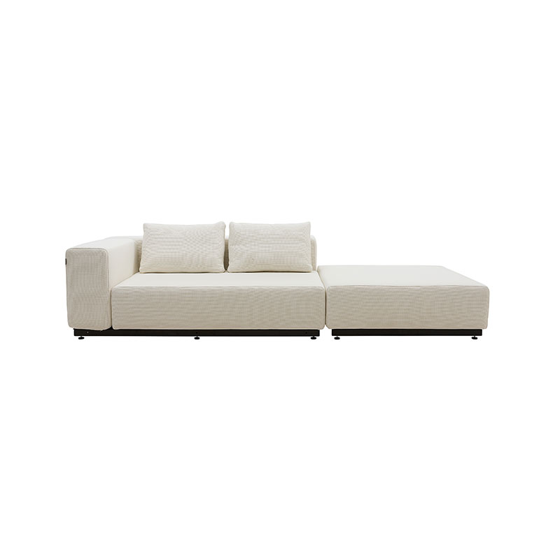 Softline Nevada Pouf 02 Olson and Baker - Designer & Contemporary Sofas, Furniture - Olson and Baker showcases original designs from authentic, designer brands. Buy contemporary furniture, lighting, storage, sofas & chairs at Olson + Baker.