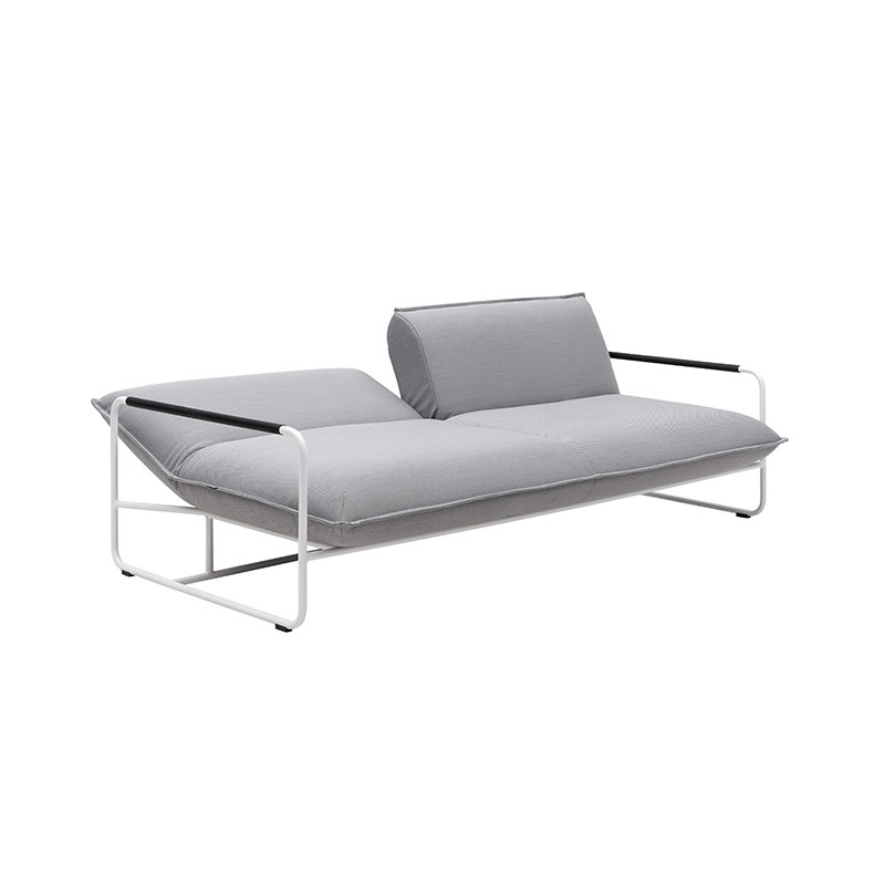 Softline Nova Three Seat Sofa Bed 01 Olson and Baker - Designer & Contemporary Sofas, Furniture - Olson and Baker showcases original designs from authentic, designer brands. Buy contemporary furniture, lighting, storage, sofas & chairs at Olson + Baker.