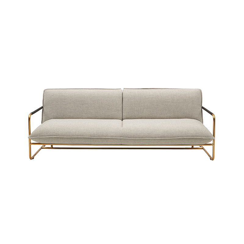 Softline Nova Three Seat Sofa Bed by Muller & Wulff Olson and Baker - Designer & Contemporary Sofas, Furniture - Olson and Baker showcases original designs from authentic, designer brands. Buy contemporary furniture, lighting, storage, sofas & chairs at Olson + Baker.