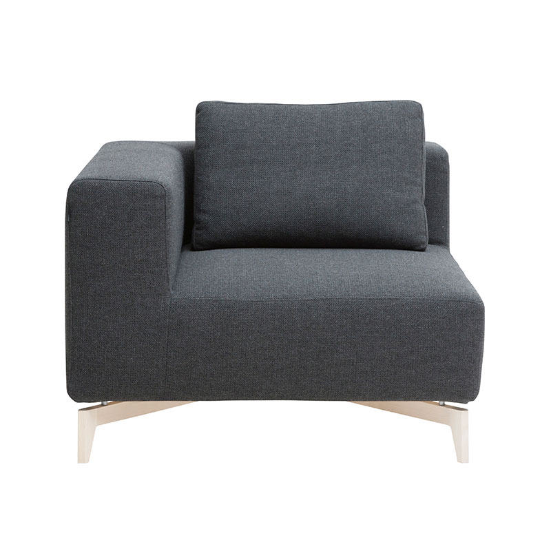 Softline Passion Corner Modular Sofa Element by Stine Engelbrechtsen Olson and Baker - Designer & Contemporary Sofas, Furniture - Olson and Baker showcases original designs from authentic, designer brands. Buy contemporary furniture, lighting, storage, sofas & chairs at Olson + Baker.