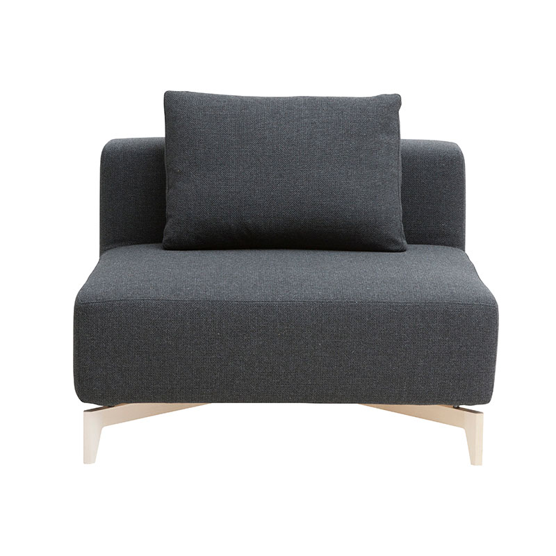 Softline Passion Single Modular Sofa Element by Stine Engelbrechtsen Olson and Baker - Designer & Contemporary Sofas, Furniture - Olson and Baker showcases original designs from authentic, designer brands. Buy contemporary furniture, lighting, storage, sofas & chairs at Olson + Baker.