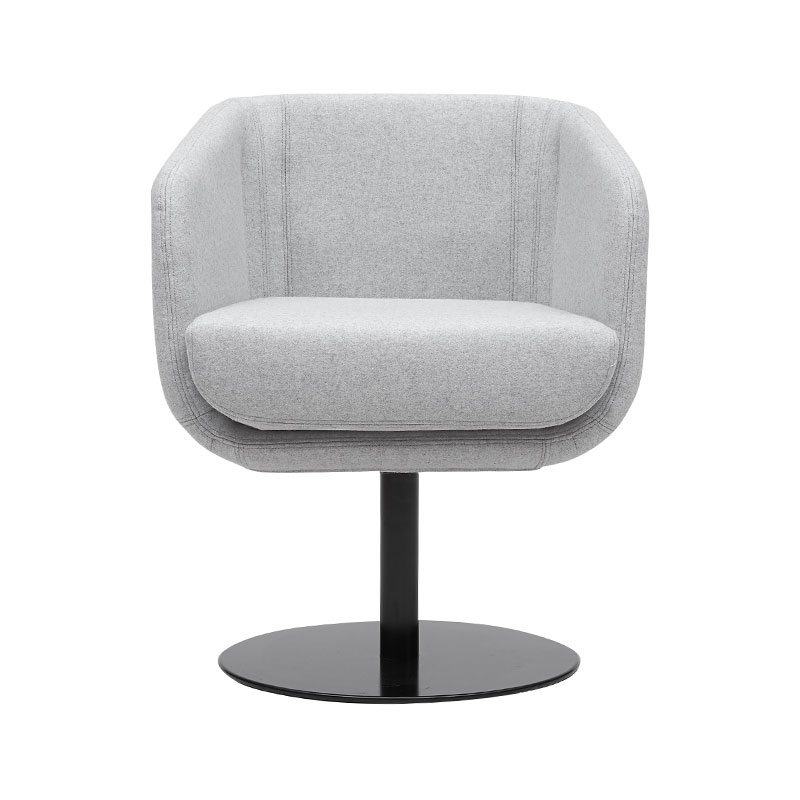 Softline Shelly Swivel Chair by Matthias Demacker Olson and Baker - Designer & Contemporary Sofas, Furniture - Olson and Baker showcases original designs from authentic, designer brands. Buy contemporary furniture, lighting, storage, sofas & chairs at Olson + Baker.
