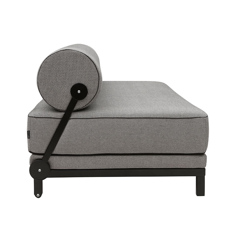 Softline Sleep Three Seat Sofa Bed 470 Cento Black 03 Olson and Baker - Designer & Contemporary Sofas, Furniture - Olson and Baker showcases original designs from authentic, designer brands. Buy contemporary furniture, lighting, storage, sofas & chairs at Olson + Baker.