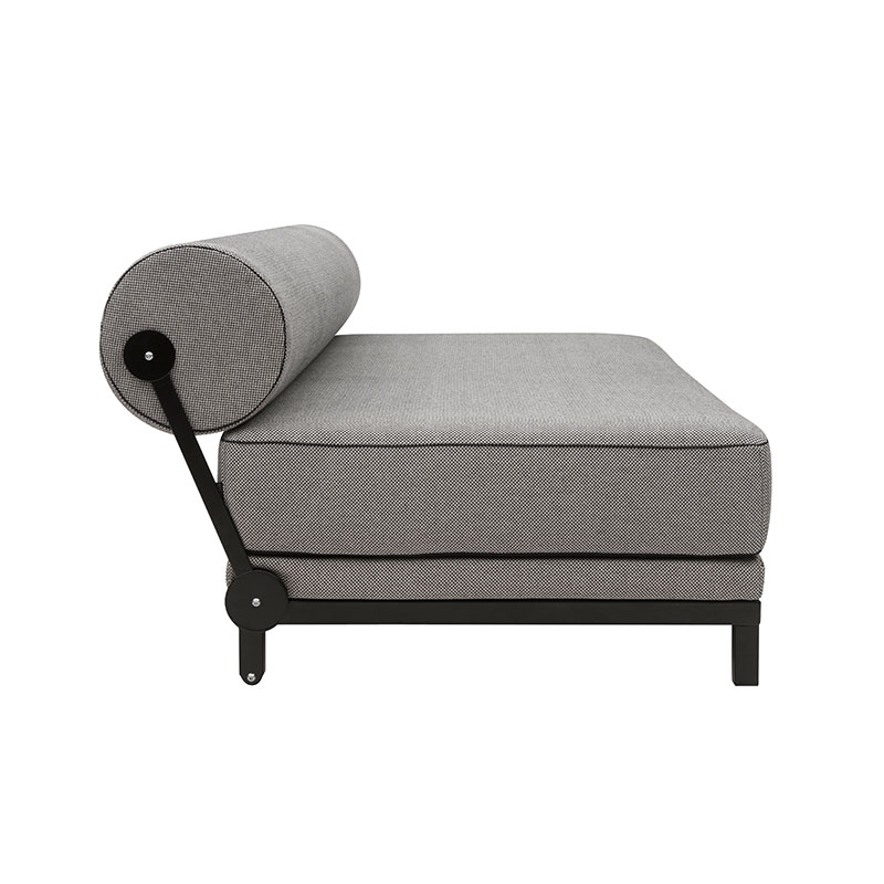 Softline Sleep Three Seat Sofa Bed 470 Cento Black 04 Olson and Baker - Designer & Contemporary Sofas, Furniture - Olson and Baker showcases original designs from authentic, designer brands. Buy contemporary furniture, lighting, storage, sofas & chairs at Olson + Baker.