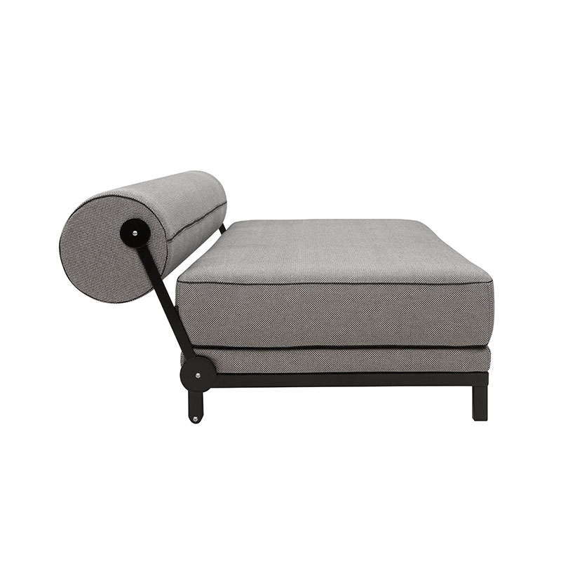 Softline Sleep Three Seat Sofa Bed 470 Cento Black 05 Olson and Baker - Designer & Contemporary Sofas, Furniture - Olson and Baker showcases original designs from authentic, designer brands. Buy contemporary furniture, lighting, storage, sofas & chairs at Olson + Baker.