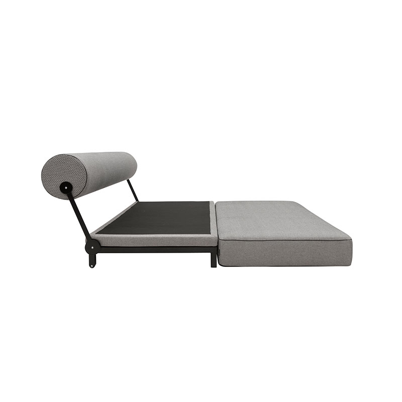 Softline Sleep Three Seat Sofa Bed 470 Cento Black 06 Olson and Baker - Designer & Contemporary Sofas, Furniture - Olson and Baker showcases original designs from authentic, designer brands. Buy contemporary furniture, lighting, storage, sofas & chairs at Olson + Baker.