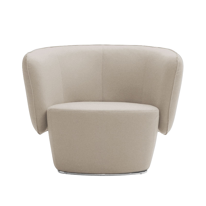 Softline Venice Lounge Chair by Busk-Hertzog Olson and Baker - Designer & Contemporary Sofas, Furniture - Olson and Baker showcases original designs from authentic, designer brands. Buy contemporary furniture, lighting, storage, sofas & chairs at Olson + Baker.