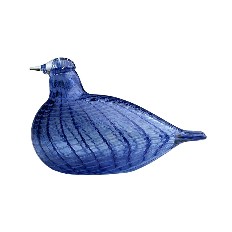 Iittala Birds by Toikka 120x85mm Baby Bluebird by Oiva Toikka Olson and Baker - Designer & Contemporary Sofas, Furniture - Olson and Baker showcases original designs from authentic, designer brands. Buy contemporary furniture, lighting, storage, sofas & chairs at Olson + Baker.