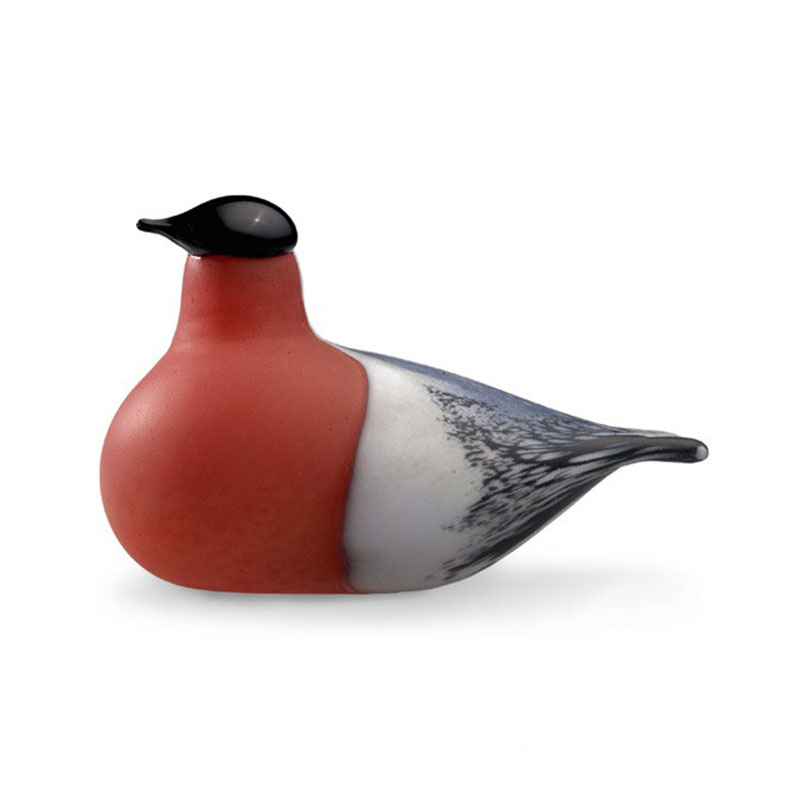 Iittala Birds by Toikka 150x80mm Bullfinch by Oiva Toikka Olson and Baker - Designer & Contemporary Sofas, Furniture - Olson and Baker showcases original designs from authentic, designer brands. Buy contemporary furniture, lighting, storage, sofas & chairs at Olson + Baker.
