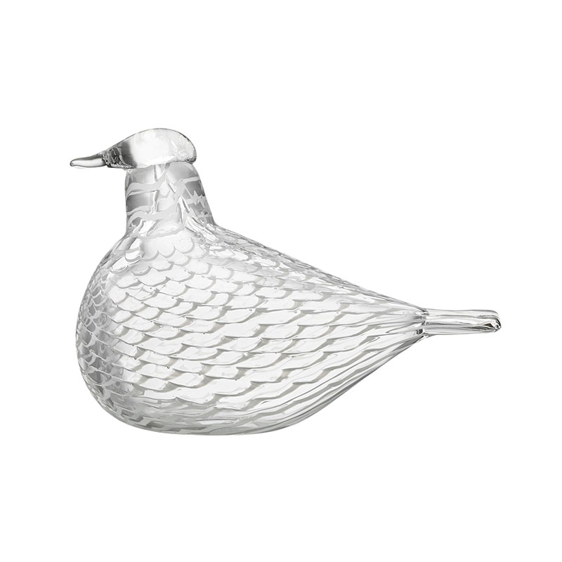 Iittala Birds by Toikka 160x110mm Mediator Dove by Oiva Toikka Olson and Baker - Designer & Contemporary Sofas, Furniture - Olson and Baker showcases original designs from authentic, designer brands. Buy contemporary furniture, lighting, storage, sofas & chairs at Olson + Baker.