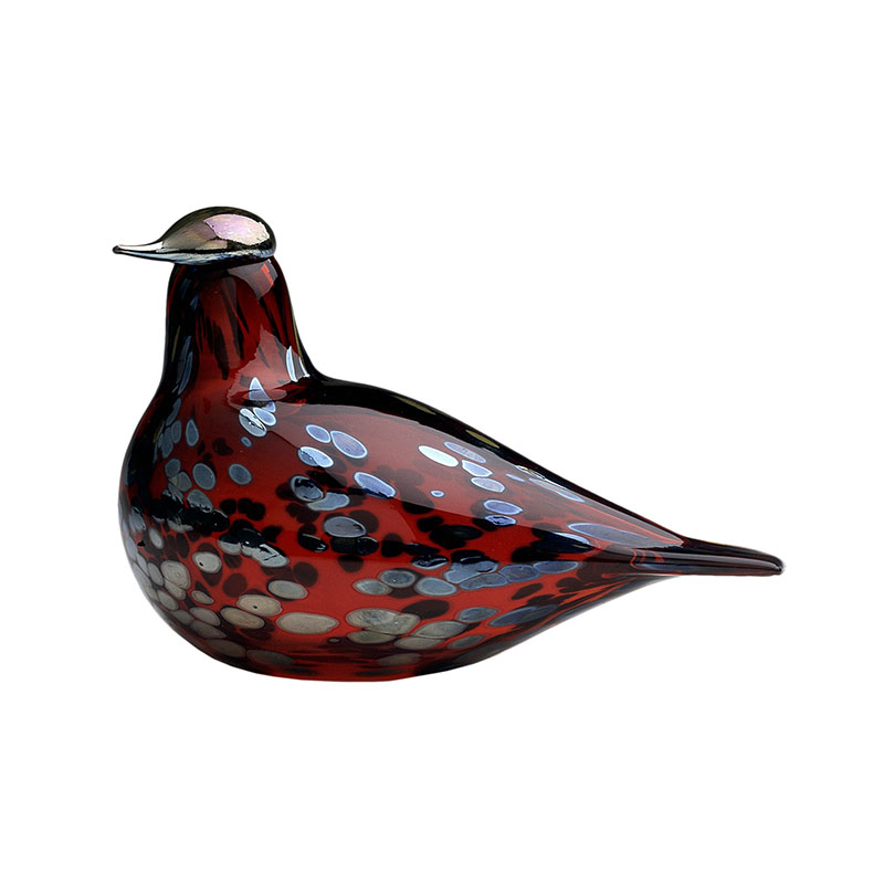 Iittala Birds by Toikka 210x130mm Ruby Bird Cranberry by Oiva Toikka Olson and Baker - Designer & Contemporary Sofas, Furniture - Olson and Baker showcases original designs from authentic, designer brands. Buy contemporary furniture, lighting, storage, sofas & chairs at Olson + Baker.