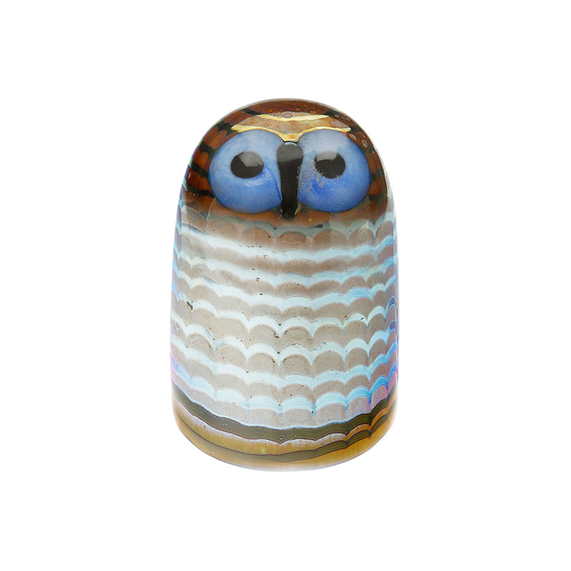 Iittala Birds by Toikka 75x105mm Owlet by Oiva Toikka Olson and Baker - Designer & Contemporary Sofas, Furniture - Olson and Baker showcases original designs from authentic, designer brands. Buy contemporary furniture, lighting, storage, sofas & chairs at Olson + Baker.
