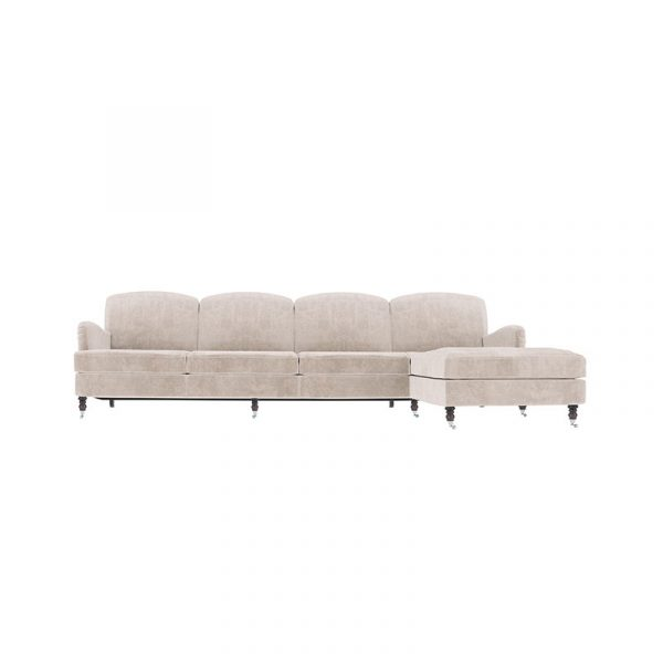 Anning Four Seat Corner Sofa with Chaise
