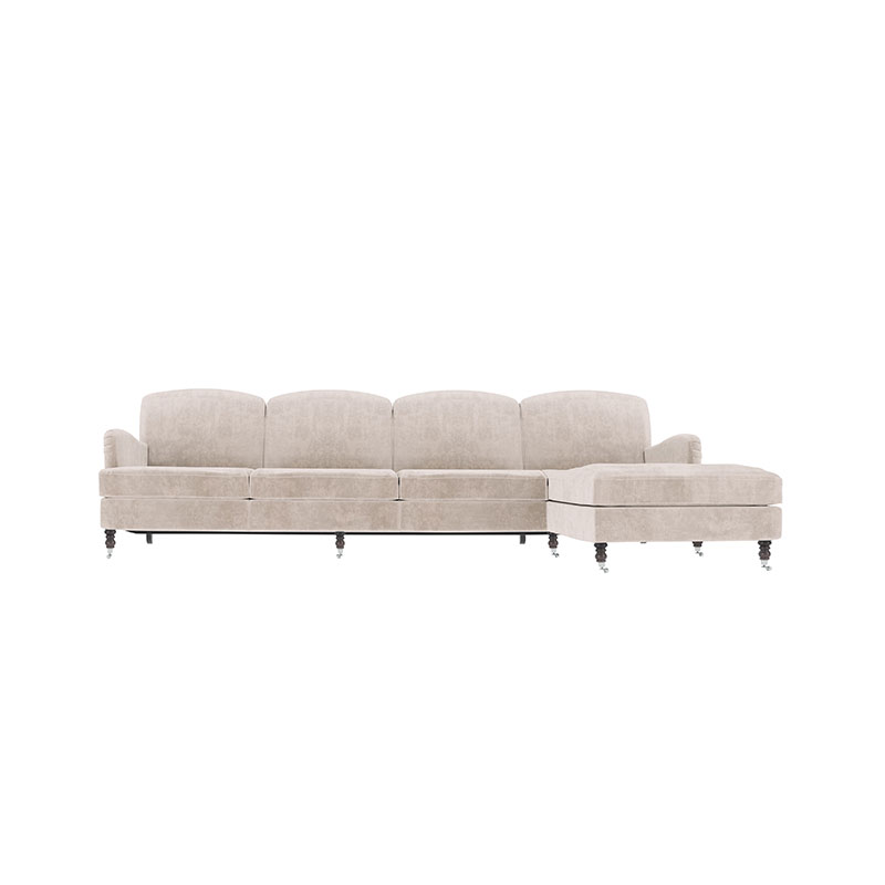 Olson and Baker Anning Four Seat Corner Sofa with Chaise by Olson and Baker Studio Olson and Baker - Designer & Contemporary Sofas, Furniture - Olson and Baker showcases original designs from authentic, designer brands. Buy contemporary furniture, lighting, storage, sofas & chairs at Olson + Baker.