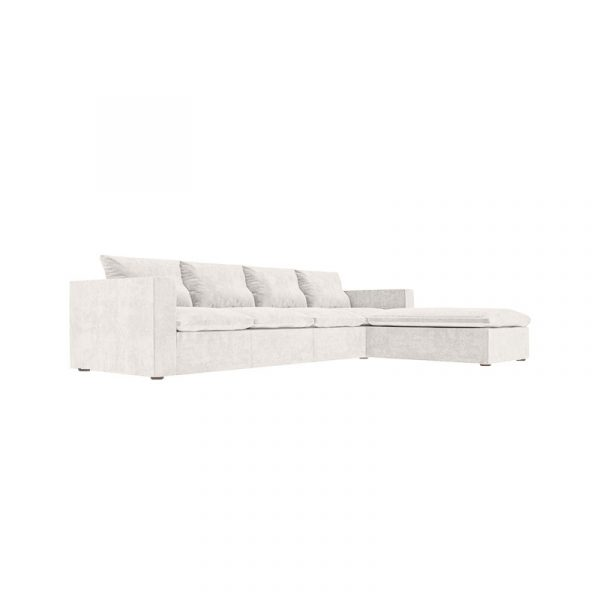 Bose Four Seat Corner Sofa with Chaise