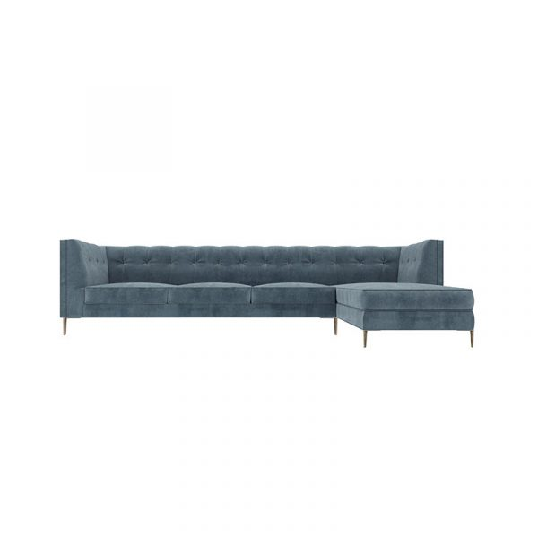Fleming Four Seat Corner Sofa with Chaise