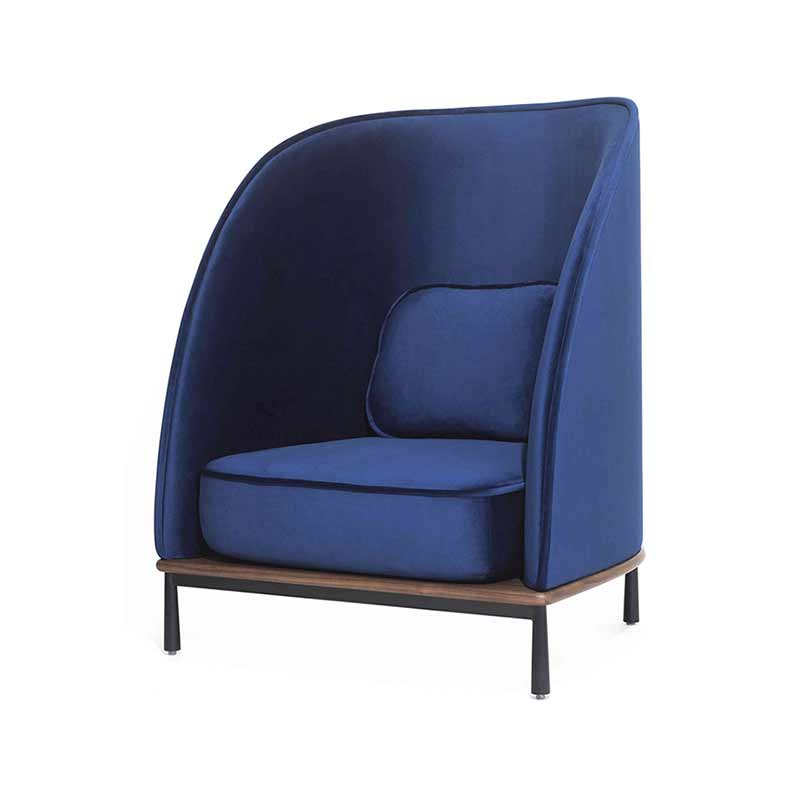 Stellar Works Arc Highback Chair by Hallgeir Homstvedt Olson and Baker - Designer & Contemporary Sofas, Furniture - Olson and Baker showcases original designs from authentic, designer brands. Buy contemporary furniture, lighting, storage, sofas & chairs at Olson + Baker.
