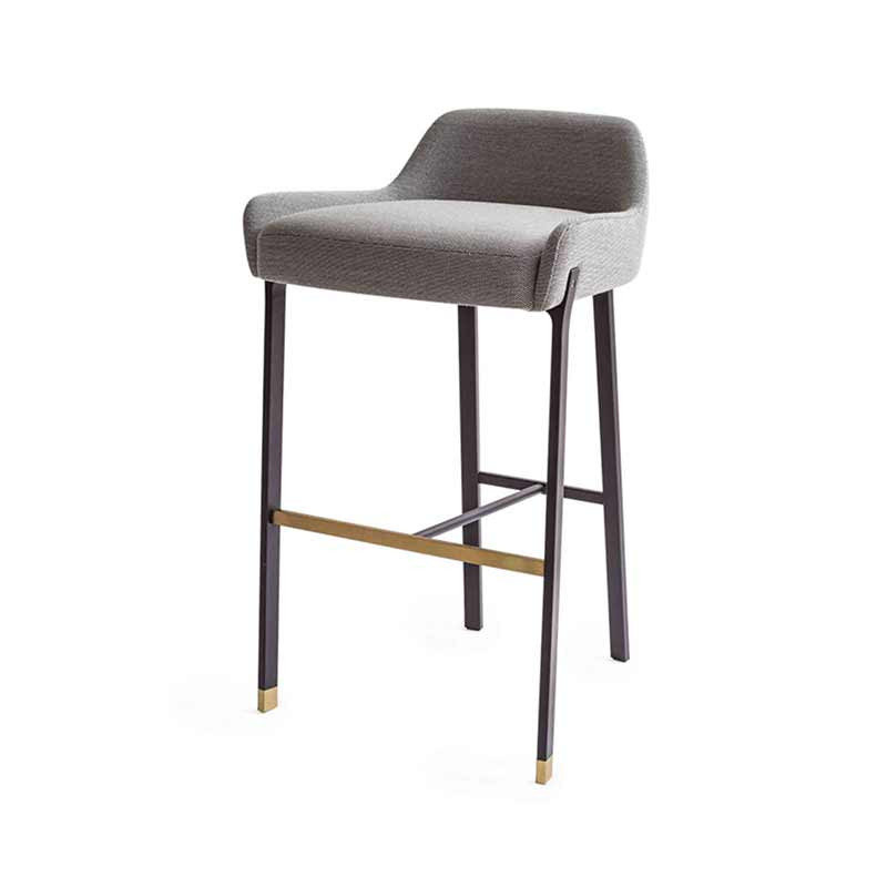 Stellar Works Blink Bar Stool by Yabu Pushelberg Olson and Baker - Designer & Contemporary Sofas, Furniture - Olson and Baker showcases original designs from authentic, designer brands. Buy contemporary furniture, lighting, storage, sofas & chairs at Olson + Baker.