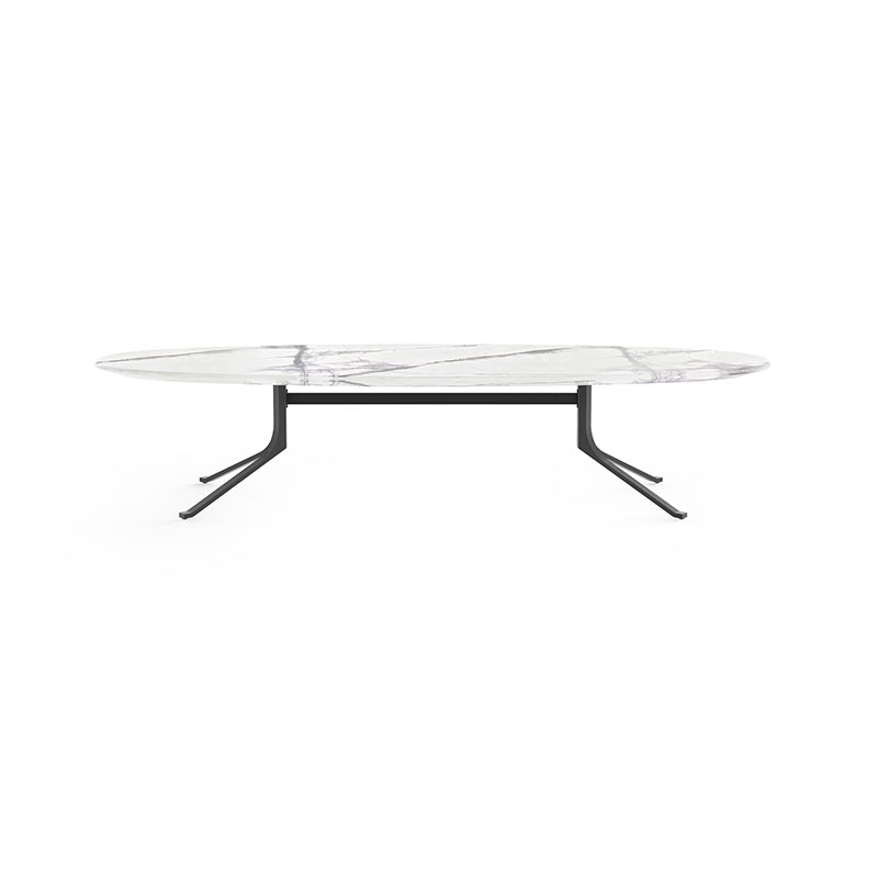 Stellar Works Blink Oval Coffee Table by Yabu Pushelberg Olson and Baker - Designer & Contemporary Sofas, Furniture - Olson and Baker showcases original designs from authentic, designer brands. Buy contemporary furniture, lighting, storage, sofas & chairs at Olson + Baker.