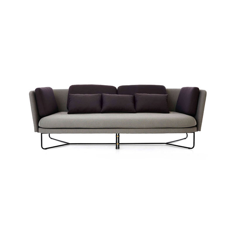 Stellar Works Chillax Three Seat Sofa by Nic Graham Olson and Baker - Designer & Contemporary Sofas, Furniture - Olson and Baker showcases original designs from authentic, designer brands. Buy contemporary furniture, lighting, storage, sofas & chairs at Olson + Baker.