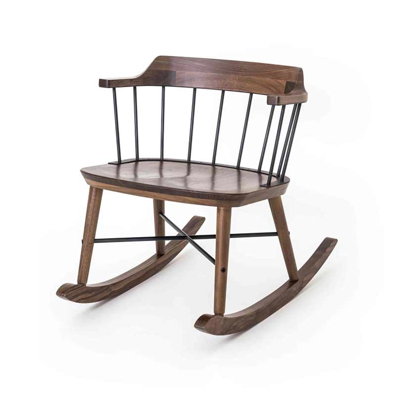 Stellar Works Exchange Rocking Chair by Crème