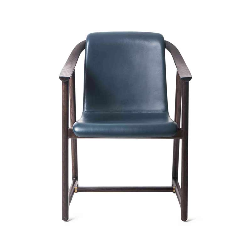 Stellar Works Mandarin Dining Chair by Neri&Hu Olson and Baker - Designer & Contemporary Sofas, Furniture - Olson and Baker showcases original designs from authentic, designer brands. Buy contemporary furniture, lighting, storage, sofas & chairs at Olson + Baker.