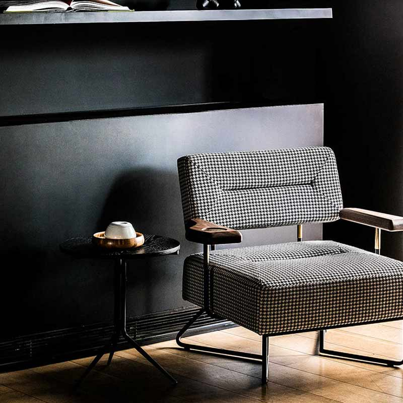 Stellar Works QT Chair with Cupholder by Nic Graham 2 Olson and Baker - Designer & Contemporary Sofas, Furniture - Olson and Baker showcases original designs from authentic, designer brands. Buy contemporary furniture, lighting, storage, sofas & chairs at Olson + Baker.