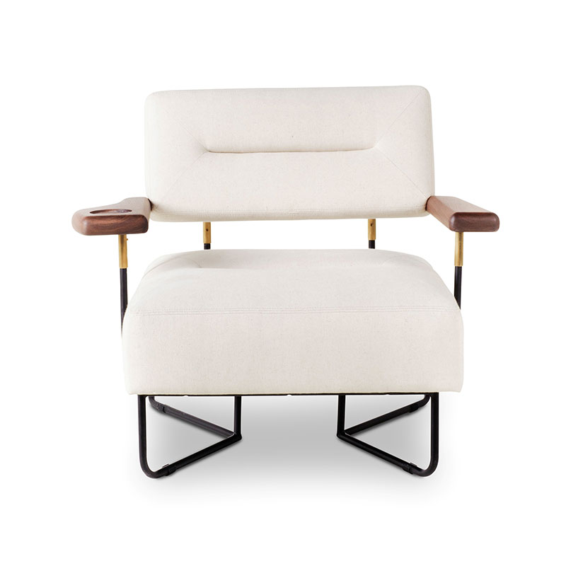 Stellar Works QT Chair with Cupholder by Nic Graham Olson and Baker - Designer & Contemporary Sofas, Furniture - Olson and Baker showcases original designs from authentic, designer brands. Buy contemporary furniture, lighting, storage, sofas & chairs at Olson + Baker.