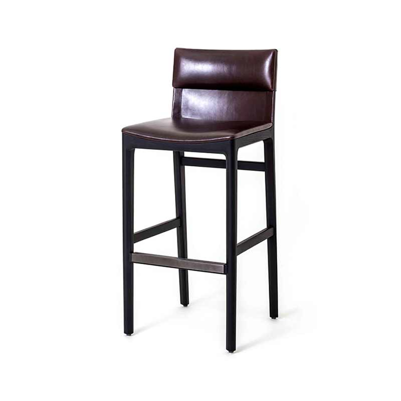 Stellar Works Taylor Bar Stool by Yabu Pushelberg Olson and Baker - Designer & Contemporary Sofas, Furniture - Olson and Baker showcases original designs from authentic, designer brands. Buy contemporary furniture, lighting, storage, sofas & chairs at Olson + Baker.