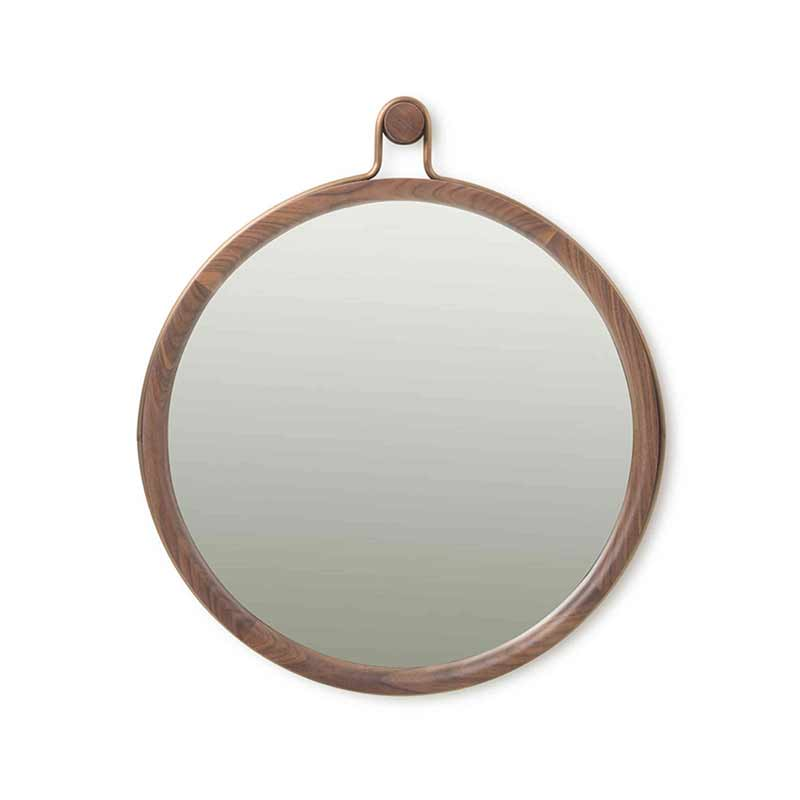 Stellar Works Utility Round Mirror by Neri&Hu Olson and Baker - Designer & Contemporary Sofas, Furniture - Olson and Baker showcases original designs from authentic, designer brands. Buy contemporary furniture, lighting, storage, sofas & chairs at Olson + Baker.