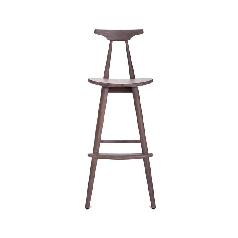 Stellar Works Wohlert Bar Stool by Vilhelm Wohlert Olson and Baker - Designer & Contemporary Sofas, Furniture - Olson and Baker showcases original designs from authentic, designer brands. Buy contemporary furniture, lighting, storage, sofas & chairs at Olson + Baker.