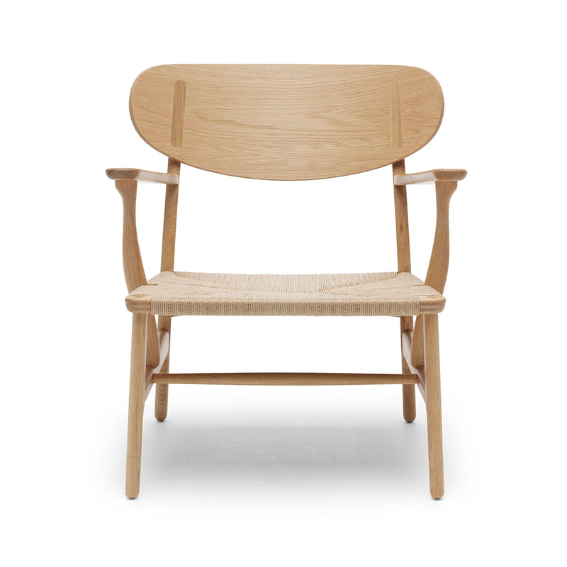 Carl Hansen CH22 Lounge Chair by Hans Wegner Olson and Baker - Designer & Contemporary Sofas, Furniture - Olson and Baker showcases original designs from authentic, designer brands. Buy contemporary furniture, lighting, storage, sofas & chairs at Olson + Baker.