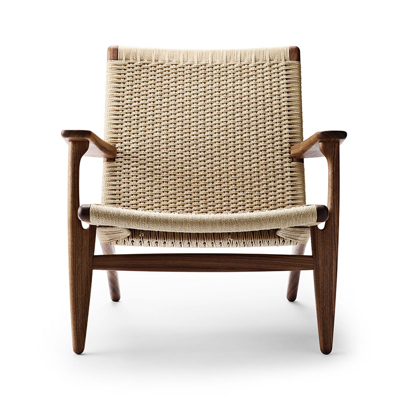 Carl Hansen CH25 Lounge Chair by Hans Wegner Olson and Baker - Designer & Contemporary Sofas, Furniture - Olson and Baker showcases original designs from authentic, designer brands. Buy contemporary furniture, lighting, storage, sofas & chairs at Olson + Baker.