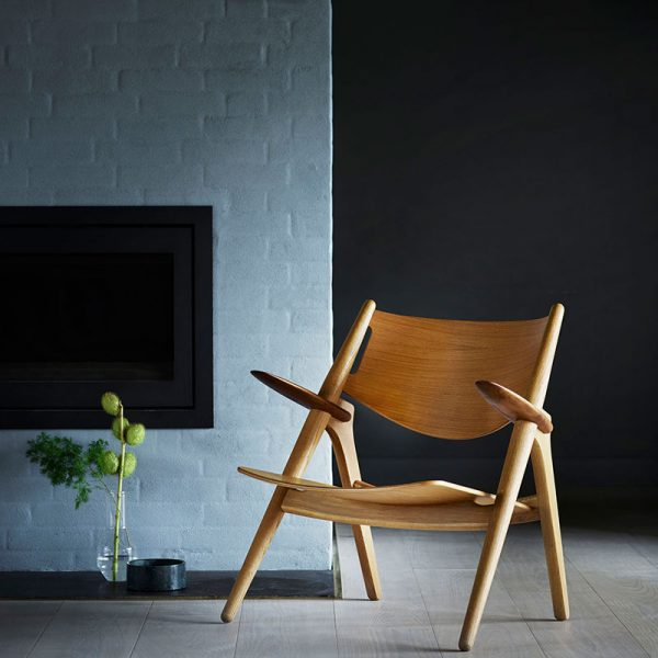 CH28T Unupholstered Lounge Chair