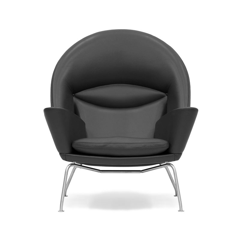 Carl Hansen CH468 Oculus Lounge Chair by Hans Wegner Olson and Baker - Designer & Contemporary Sofas, Furniture - Olson and Baker showcases original designs from authentic, designer brands. Buy contemporary furniture, lighting, storage, sofas & chairs at Olson + Baker.