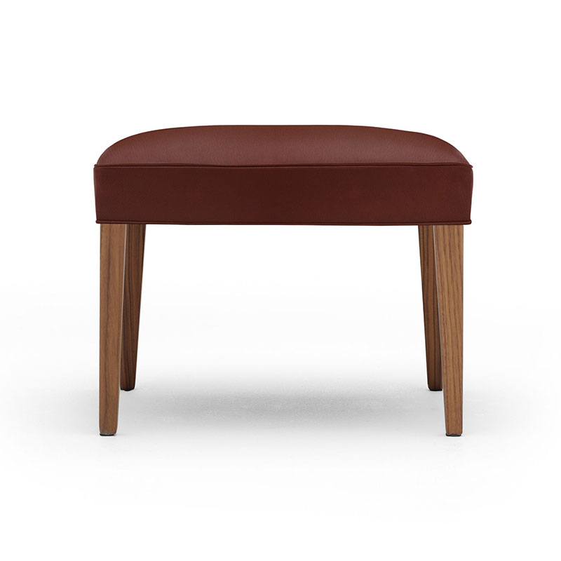 Carl Hansen FH420 Heritage Footstool by Frits Hanningsen Olson and Baker - Designer & Contemporary Sofas, Furniture - Olson and Baker showcases original designs from authentic, designer brands. Buy contemporary furniture, lighting, storage, sofas & chairs at Olson + Baker.
