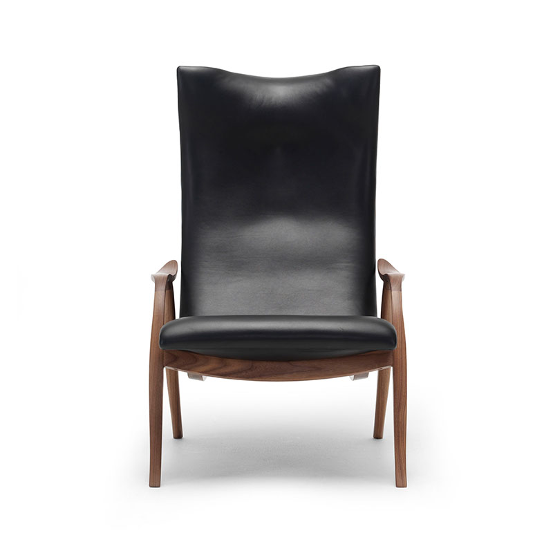 Carl Hansen FH429 Signature Lounge Chair by Frits Hanningsen Olson and Baker - Designer & Contemporary Sofas, Furniture - Olson and Baker showcases original designs from authentic, designer brands. Buy contemporary furniture, lighting, storage, sofas & chairs at Olson + Baker.