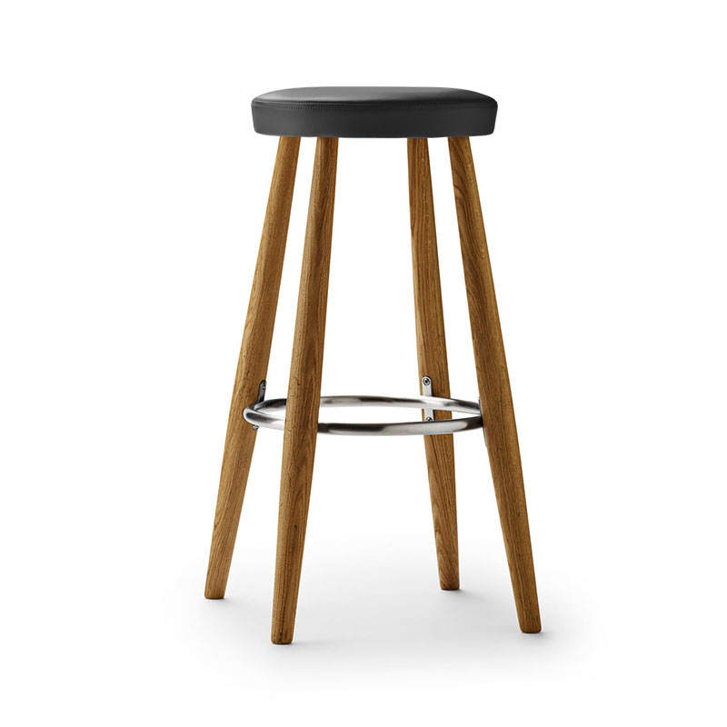 Carl Hansen CH58 Counter Stool by Hans Wegner Olson and Baker - Designer & Contemporary Sofas, Furniture - Olson and Baker showcases original designs from authentic, designer brands. Buy contemporary furniture, lighting, storage, sofas & chairs at Olson + Baker.